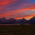 A Grand Sunset by Leasha Hooker
