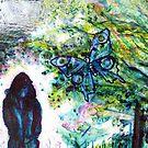 Work in ProgressIII 20110722:Butterfly detail by izzybeth
