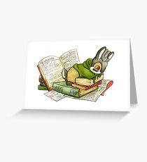 September Jackalope Greeting Card