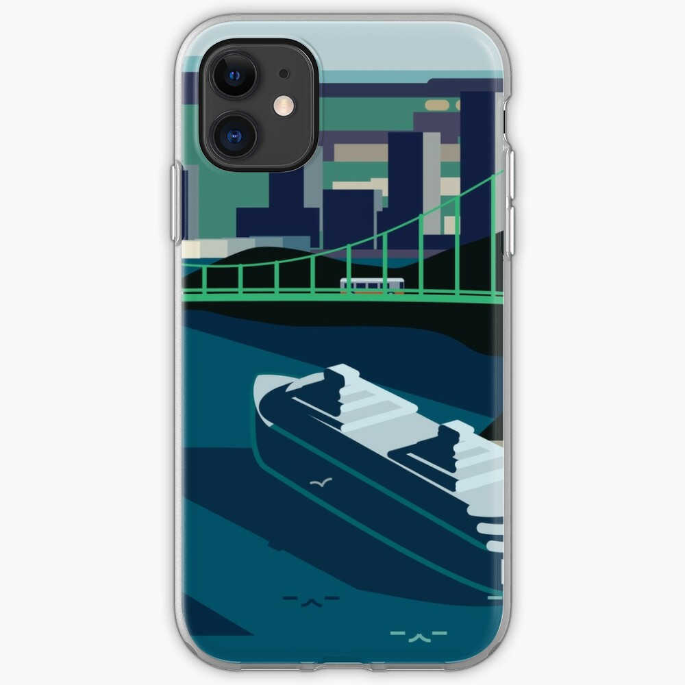 Cruiseship, Bridge City iPhone Case & Cover