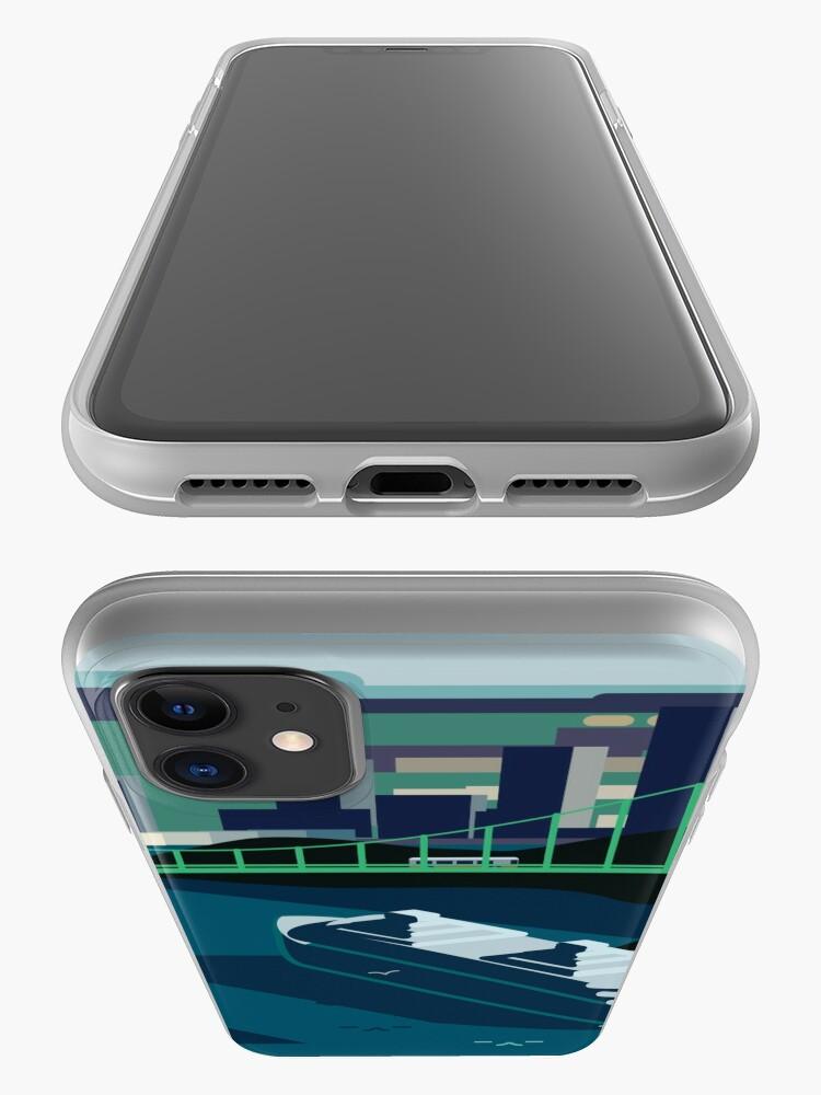 Alternate view of Cruiseship, Bridge City iPhone Case & Cover