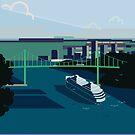 Cruiseship, Bridge City by a-roderick
