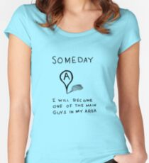Someday Women's Fitted Scoop T-Shirt