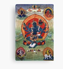 Green Tara Tibetan Buddhist Religious Art Canvas Print