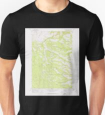USGS Topo Map Oregon Sugarbowl Creek 281670 1969 24000 Unisex T-Shirt