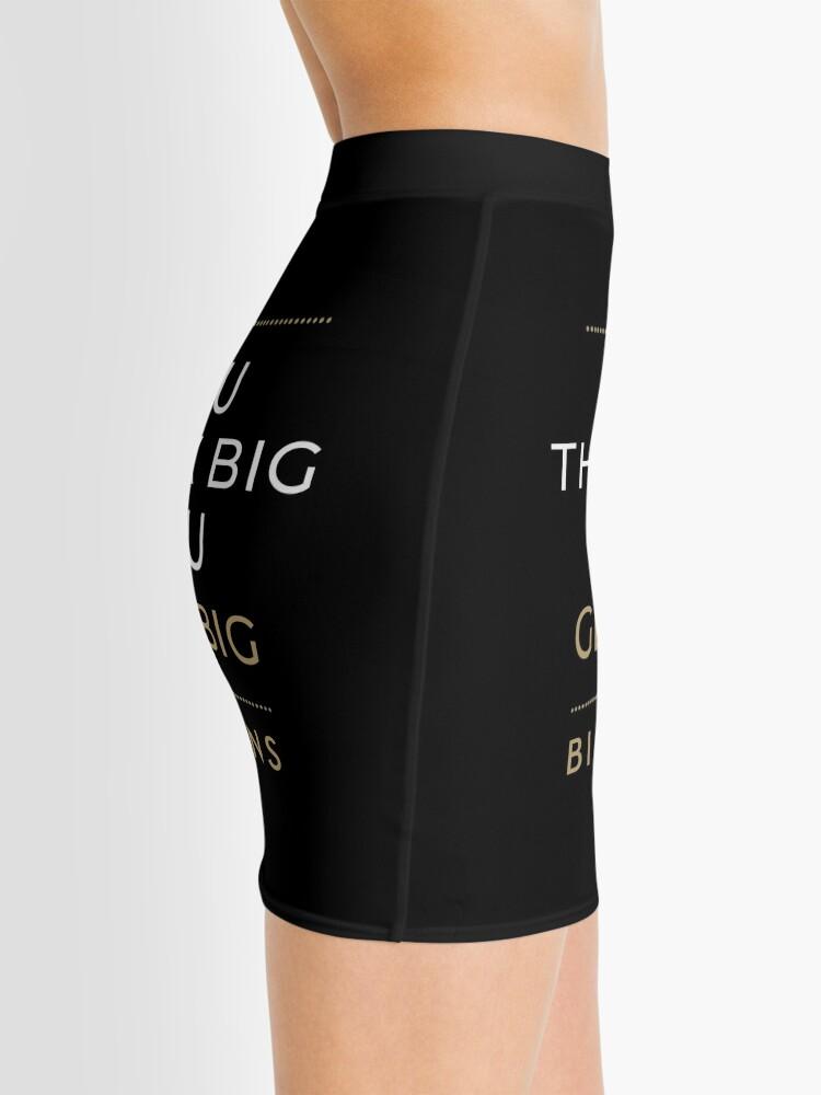 Alternate view of You Think Big, You Get Big Billions Mini Skirt