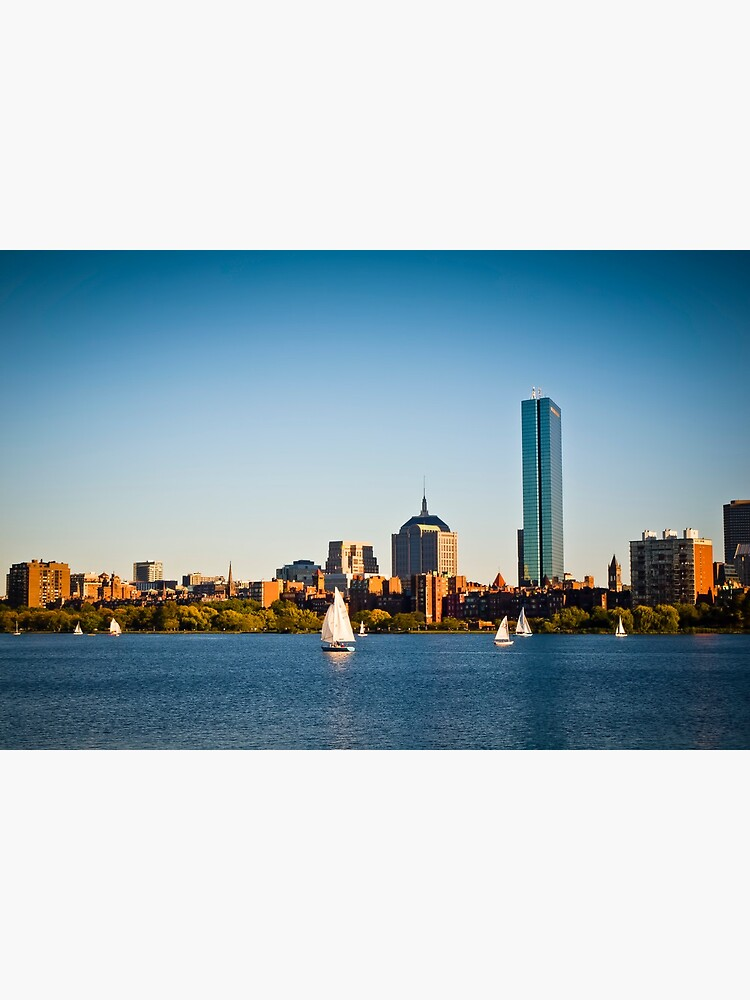 Boston skyline at sunset by rapis60