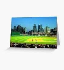 PNC Park - Pittsburgh, Pennsylvania Greeting Card