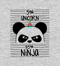 Unicorn ninja Kids Pullover Hoodie