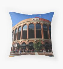 Citi Field - New York Mets Throw Pillow