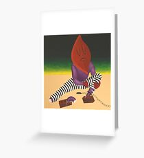 Escaping the Autoanimation Chain Gang Greeting Card