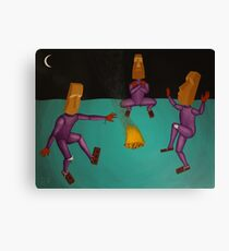 Celebratory Dance Canvas Print
