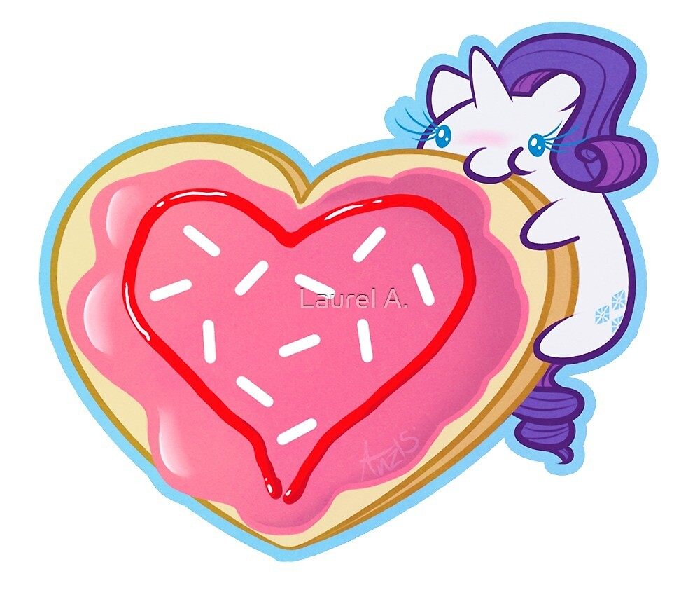 Rarity's Cookie by Sitting Fireside
