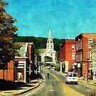 Middlebury, Vermont by Scott Mitchell