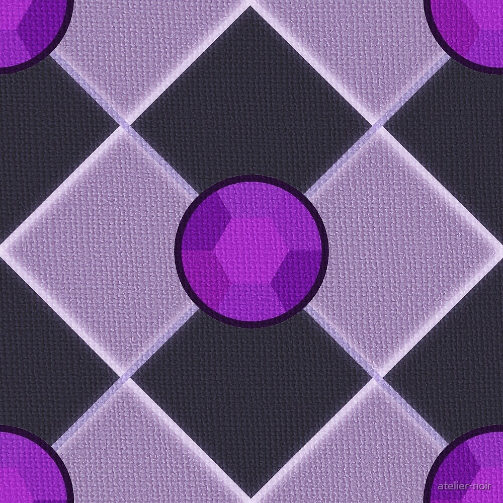 Steven Universe Amethyst-Inspired Pattern by chasing-blue