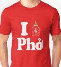 I Sriracha [love] Pho Unisex T-Shirt