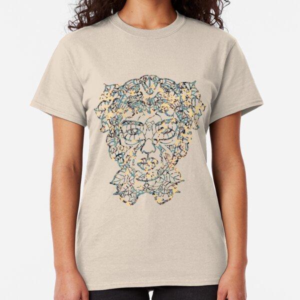 Mother Earth Camo Blue/Cream Classic T-Shirt