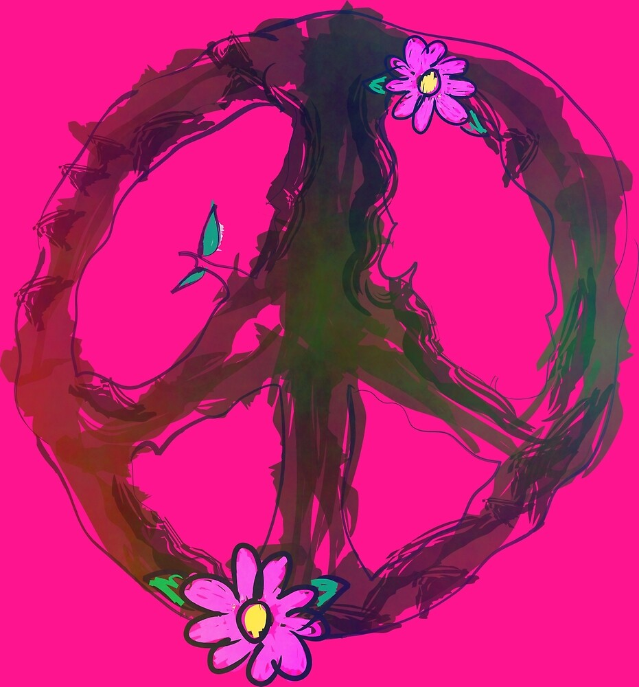 PEACE-Natural Peace Sign by NeonOf1986