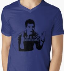 New Girl - Are you serious?! Men's V-Neck T-Shirt