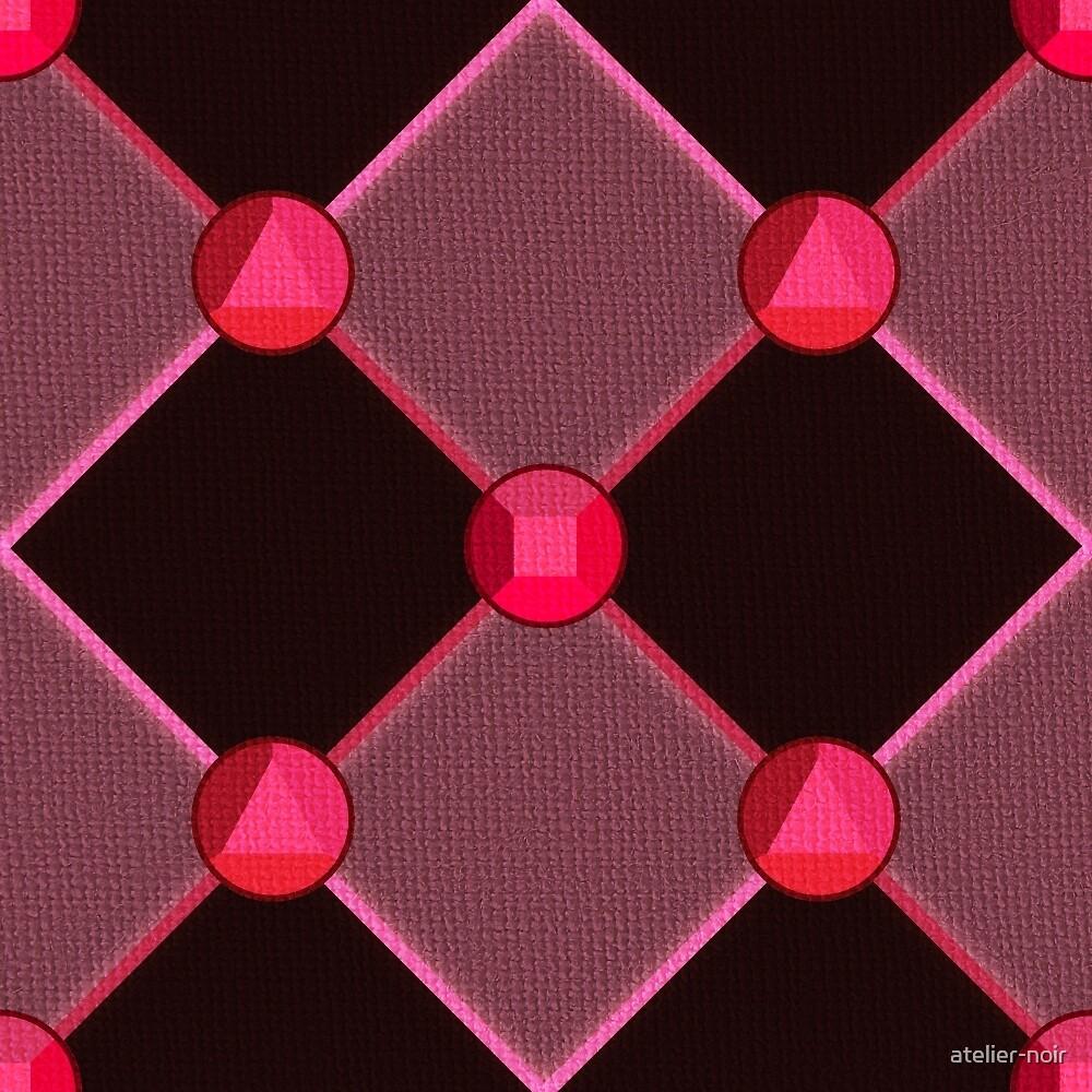 Steven Universe Garnet-Inspired Pattern by chasing-blue