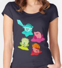 Kirby (Request) Women's Fitted Scoop T-Shirt