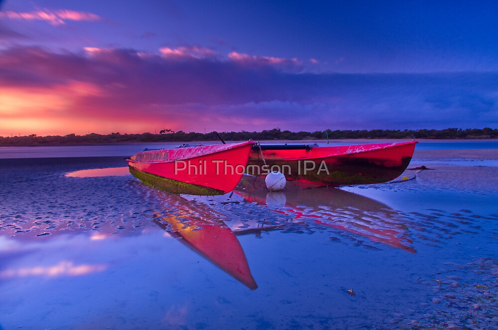 """""""Dawn over the Riverflats"""" by Phil Thomson IPA"""