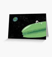 Macaron Moon Greeting Card