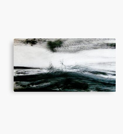 storm brewing.... sail out past the reef Canvas Print