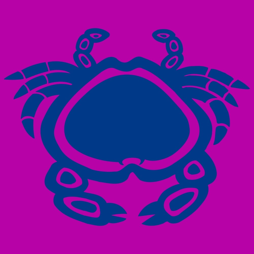 Northwestern Native Art Crab by a-roderick