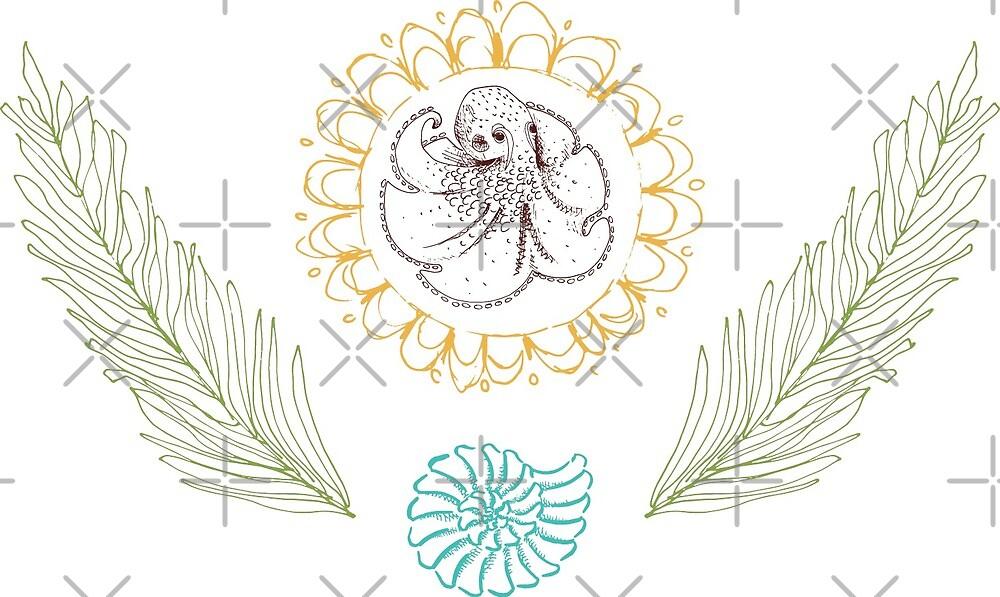 Team Octopus Emblem by KatyLuxionArt