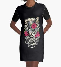 The Magic is Real Graphic T-Shirt Dress
