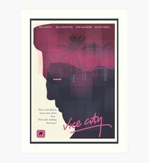 Vice City Art Print