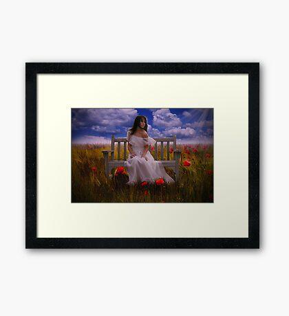 I will wait... Framed Print