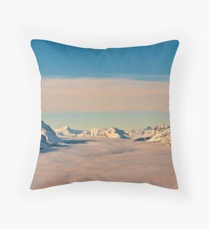 Sea of Cloud Throw Pillow