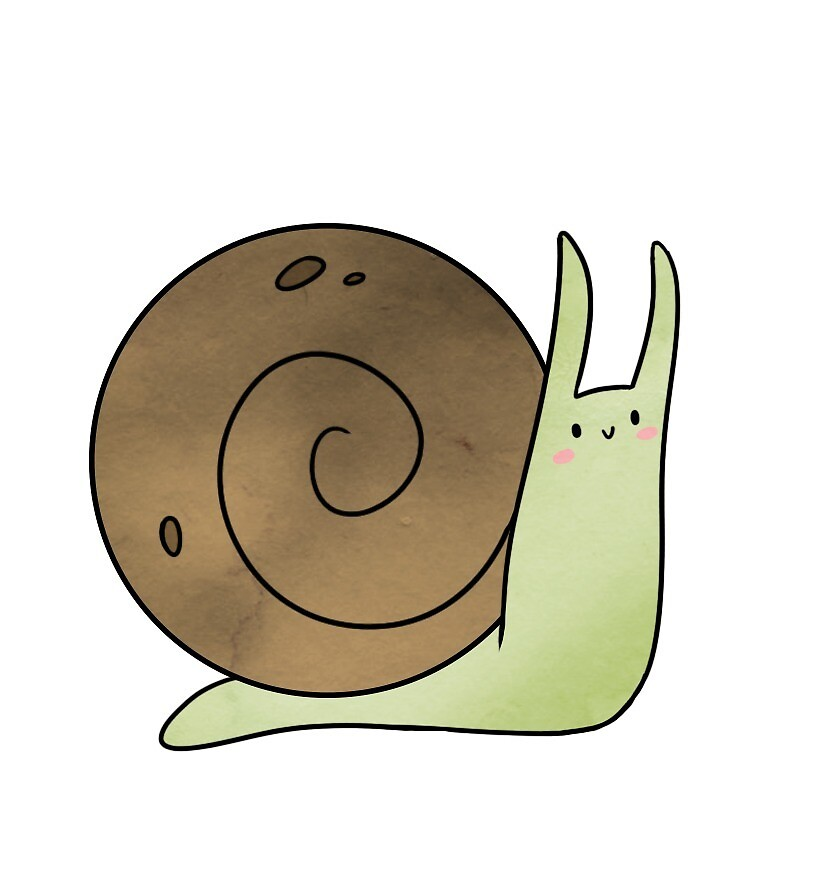 Squishy Snail by brynner