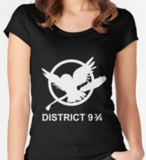 District 9 3/4 Women's Fitted Scoop T-Shirt