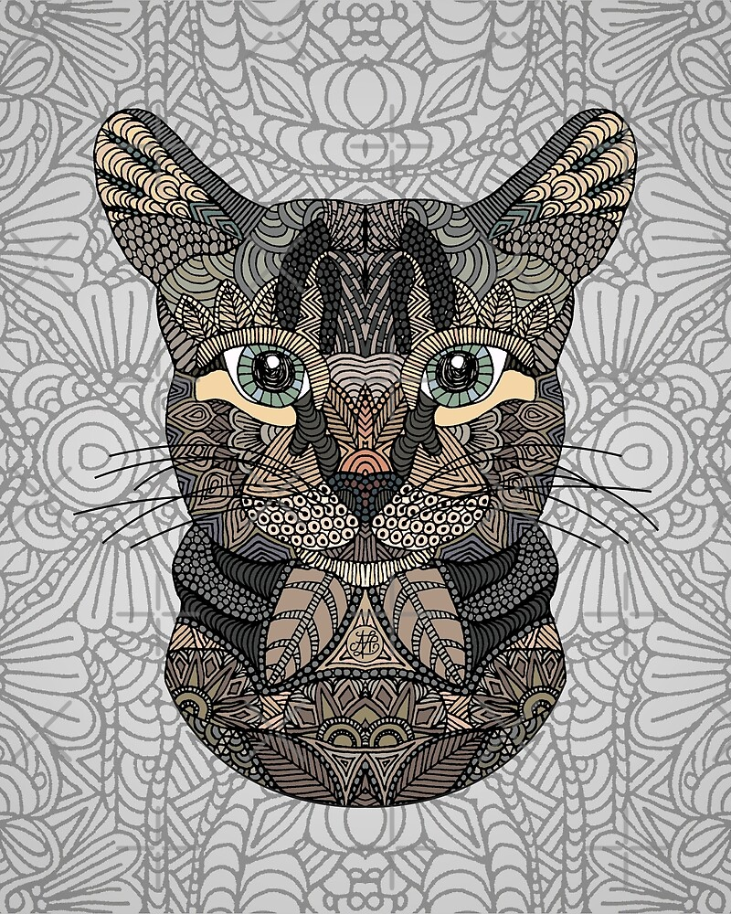 Tabby Cat by artlovepassion