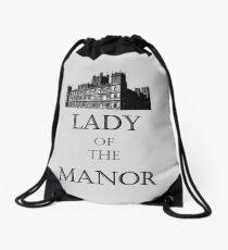 Lady of the Manor Drawstring Bag