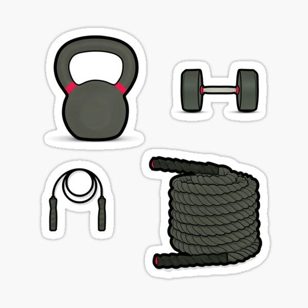 Fitness icons Sticker