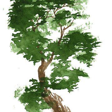Little Zen Tree 311 by Sseal