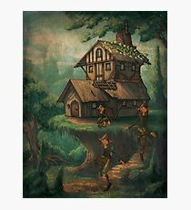 The Brownies Cottage Photographic Print