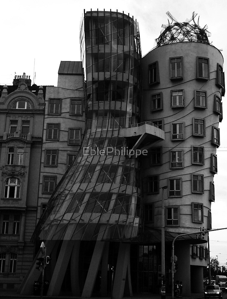 The Dancing house, Prague by EblePhilippe
