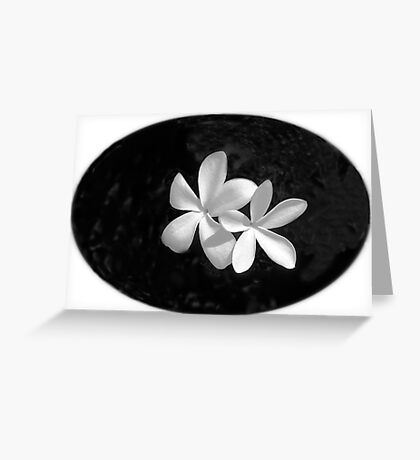 Simplicity in Black & White  Greeting Card
