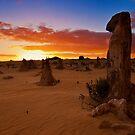 110620 Nambung National Park Pinnacles Sunrise 9 by Jaxybelle