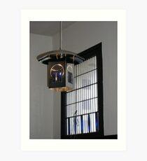 Mackintosh Lightshade & Window Art Print