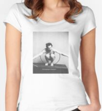 Historical Hipsters - Franz Boas Women's Fitted Scoop T-Shirt