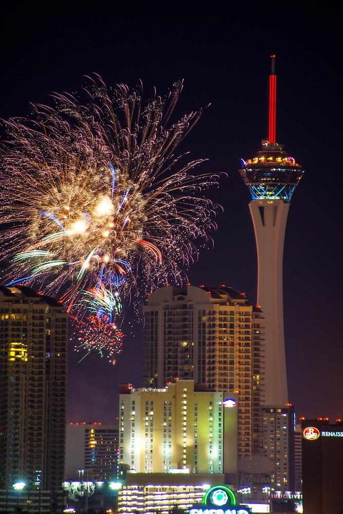 Vegas 4th by Ian Phares