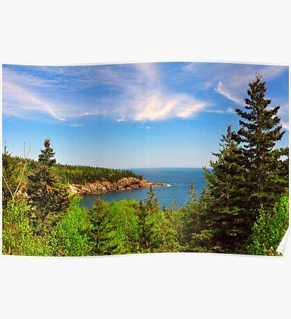 Coastline, Acadia National Park, Mt. Desert Island, Maine Poster