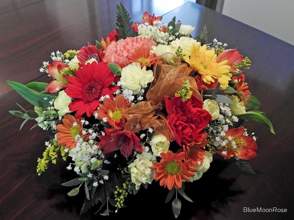 Birthday Flowers by BlueMoonRose