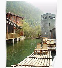 Water Village Poster